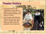 theater politics
