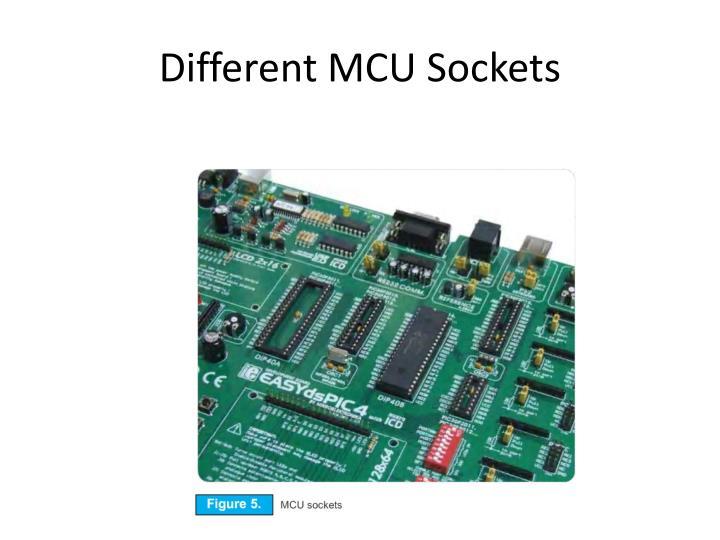 Different MCU Sockets