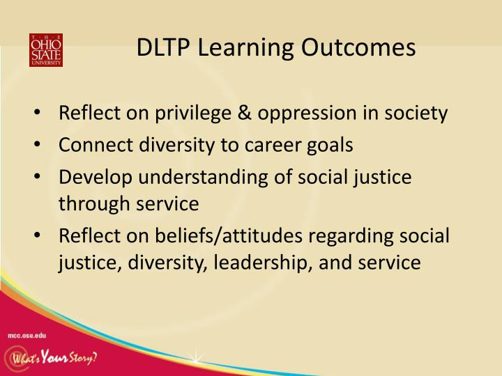 DLTP Learning Outcomes