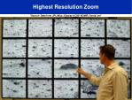 highest resolution zoom