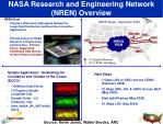nasa research and engineering network nren overview