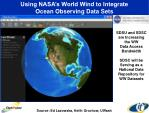 using nasa s world wind to integrate ocean observing data sets