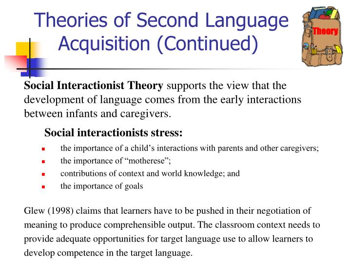 comparing and constrasting two major language acquisition theories