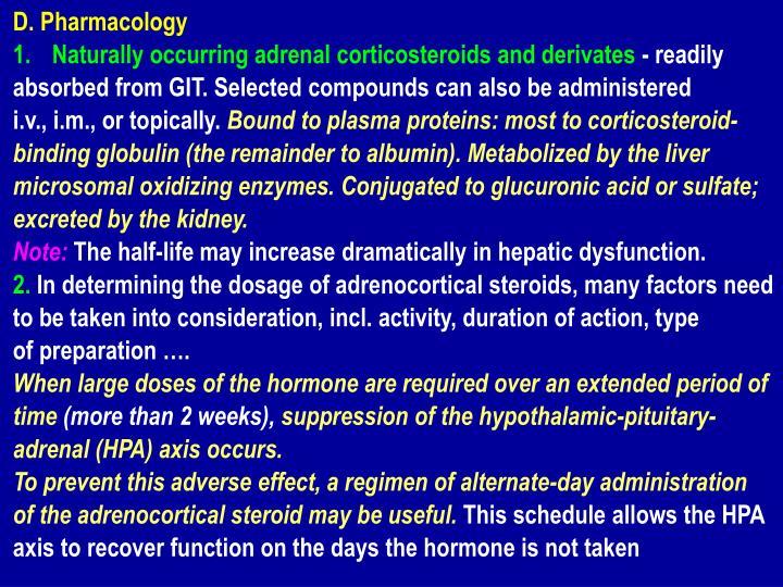 D. Pharmacology