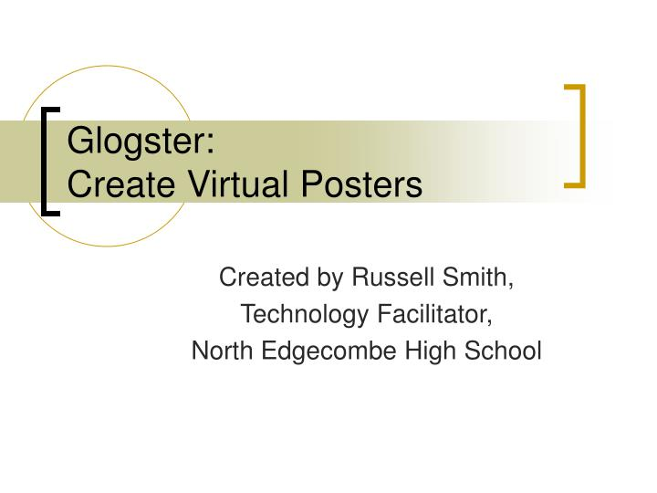 glogster create virtual posters n.