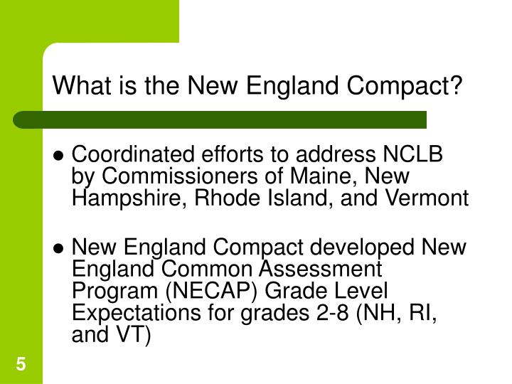 What is the New England Compact?