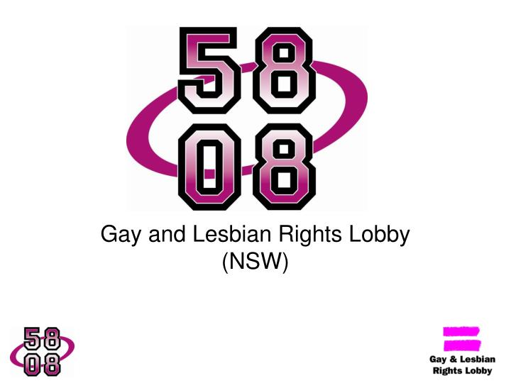 gay and lesbian rights lobby