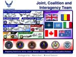 joint coalition and interagency team