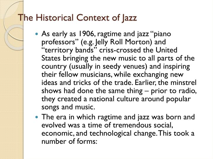 The Historical Context of