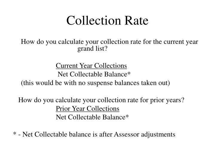 Collection Rate