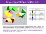 implementation and outputs2