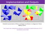 implementation and outputs3
