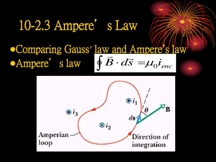 10-2.3 Ampere's Law