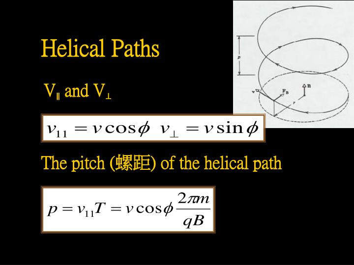 Helical Paths