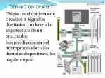 definicion chipset