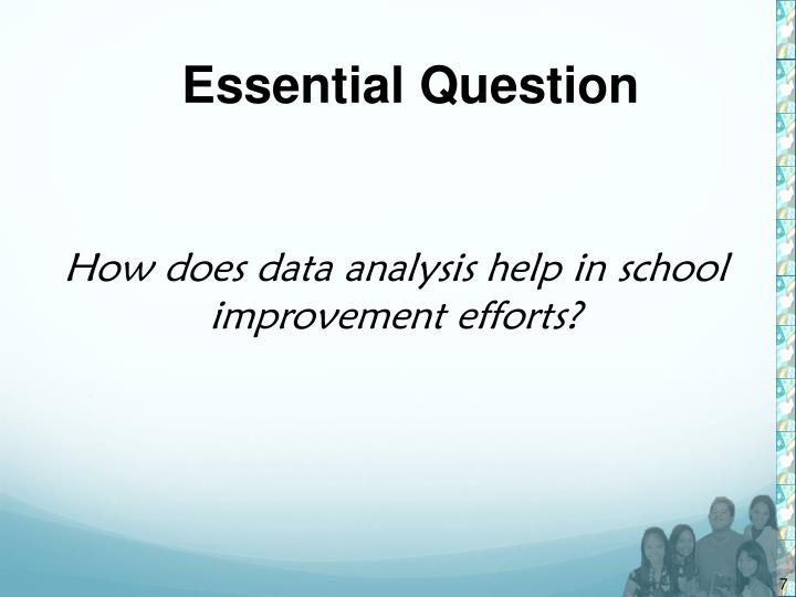 Ppt Data Analysis Tools And Processes School Level Food For