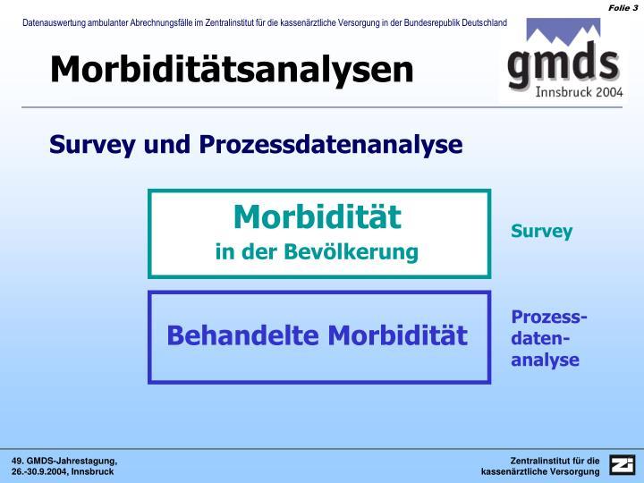 Morbiditätsanalysen