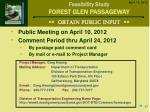 obtain public input