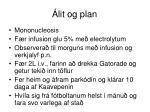 lit og plan