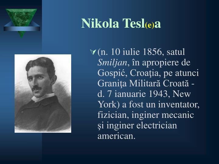 Nikola Tesl
