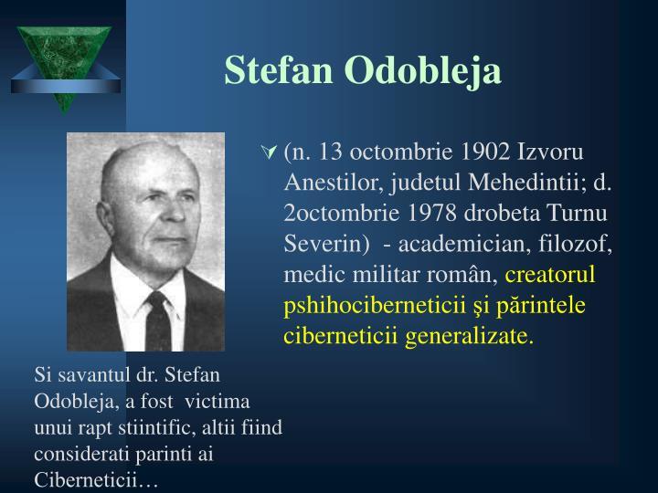 Stefan Odobleja