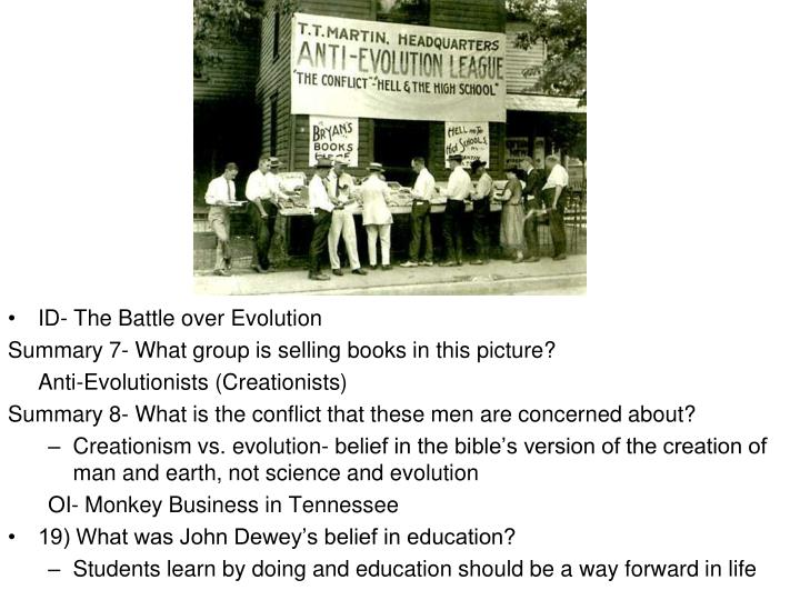 ID- The Battle over Evolution