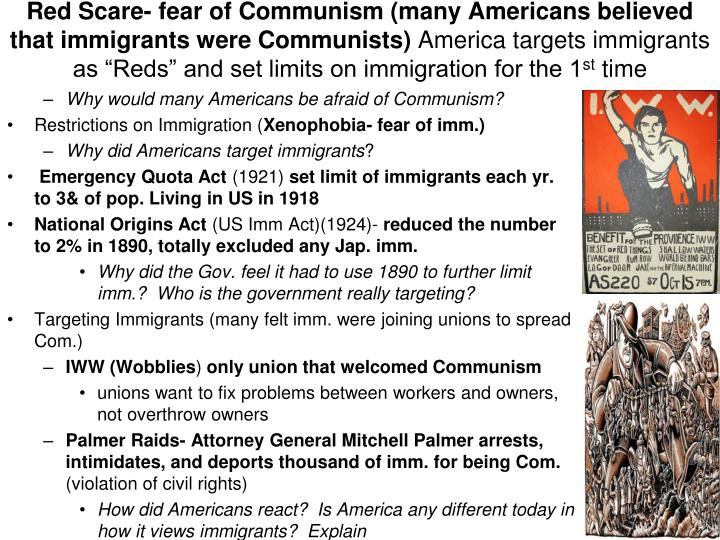 Red Scare-