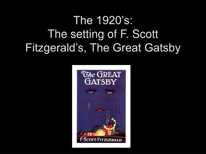 the effects of materialism in the great gatsby by f scott fitzgerald