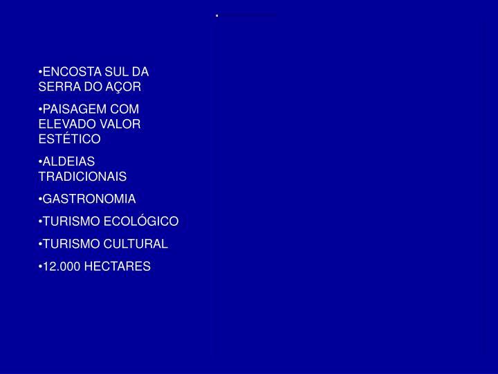 ENCOSTA SUL DA SERRA DO AÇOR