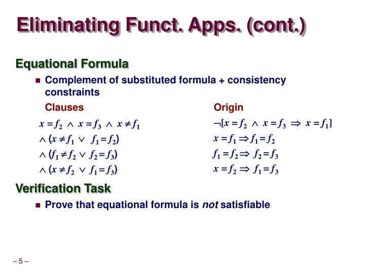Eliminating Funct. Apps. (cont.)