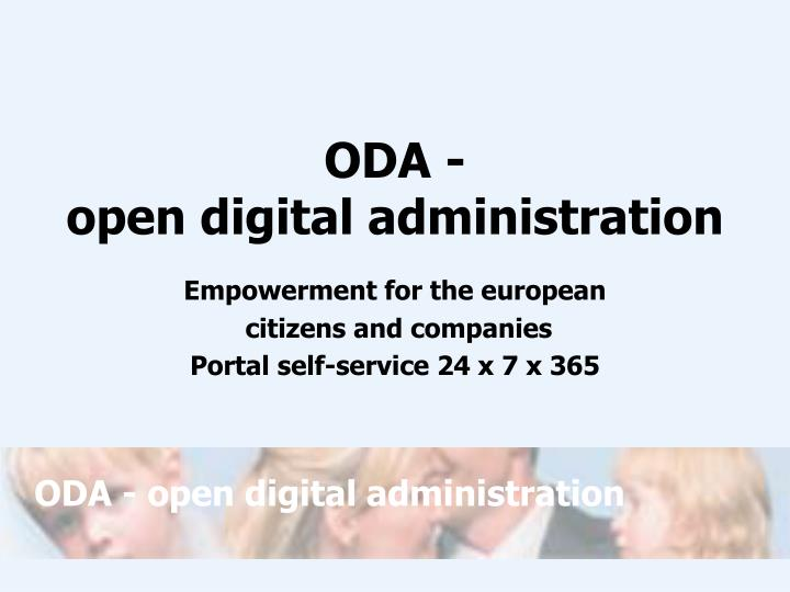 oda open digital administration n.