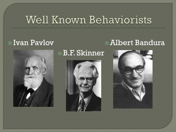 albert banduras behaviorism Bobo doll experiment: bobo doll experiment, groundbreaking study on aggression led by psychologist albert bandura that demonstrated that children are able to learn through the observation of adult behaviour.