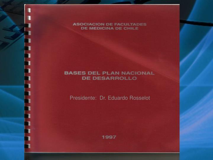 Presidente:  Dr. Eduardo Rosselot