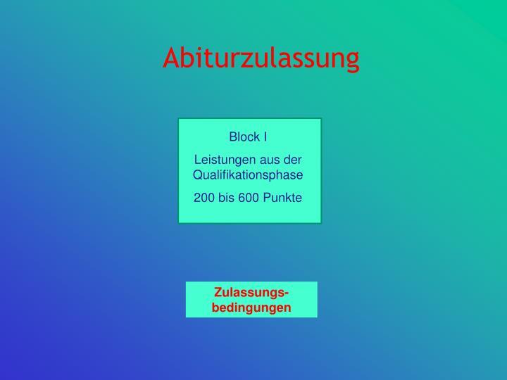 Abiturzulassung1
