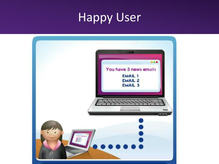 Happy User