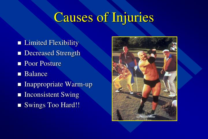 Causes of injuries