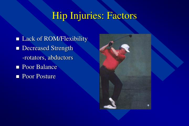 Hip Injuries: Factors