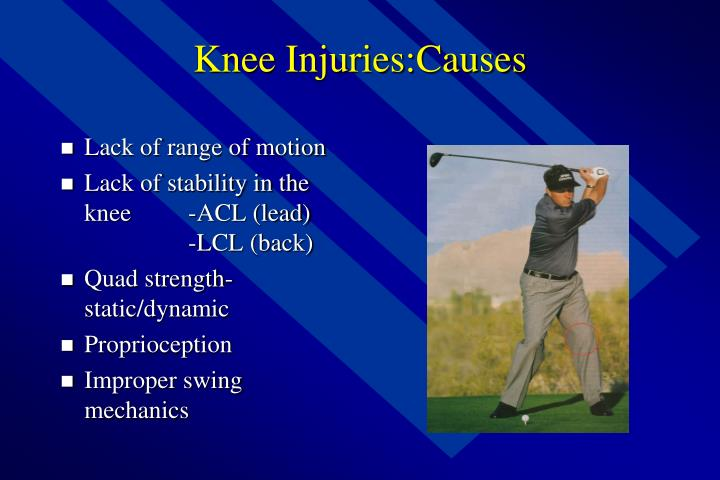 Knee Injuries:Causes