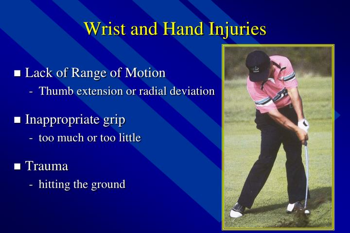 Wrist and Hand Injuries