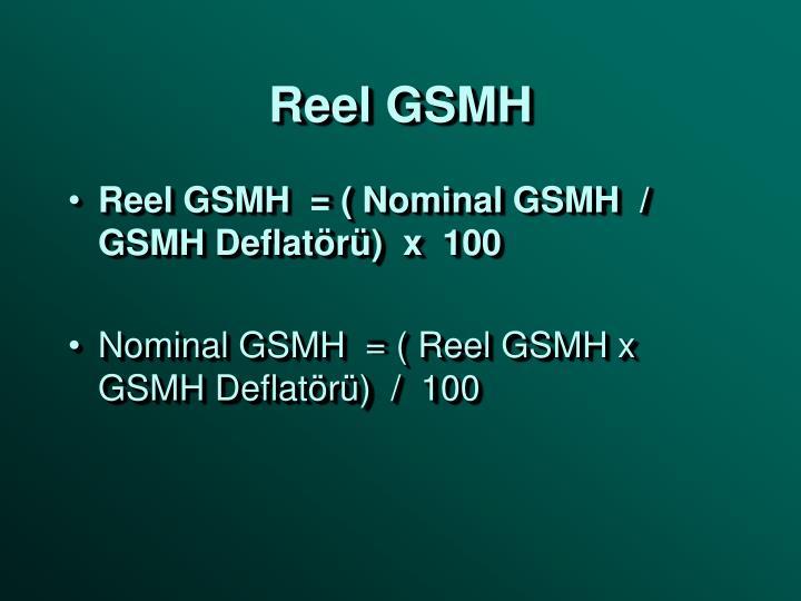 Reel GSMH