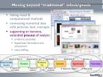 moving beyond traditional infovis geovis