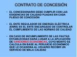contrato de concesi n