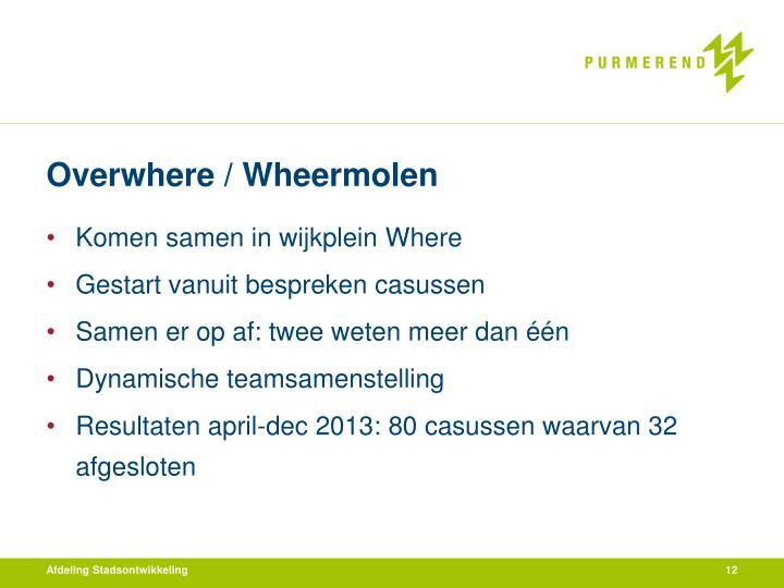 Overwhere / Wheermolen