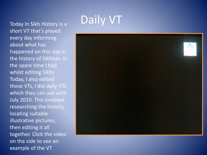 Daily VT