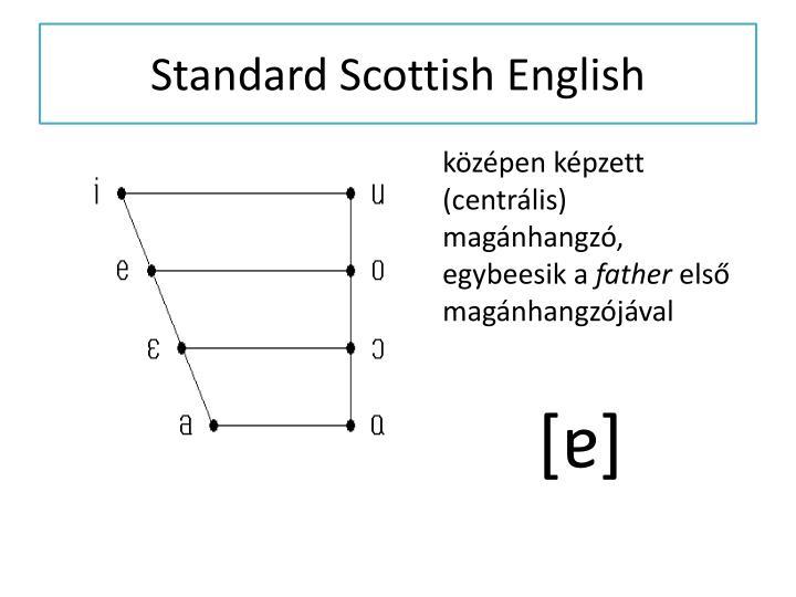 Standard Scottish English