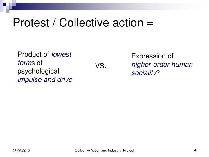 Protest / Collective action =