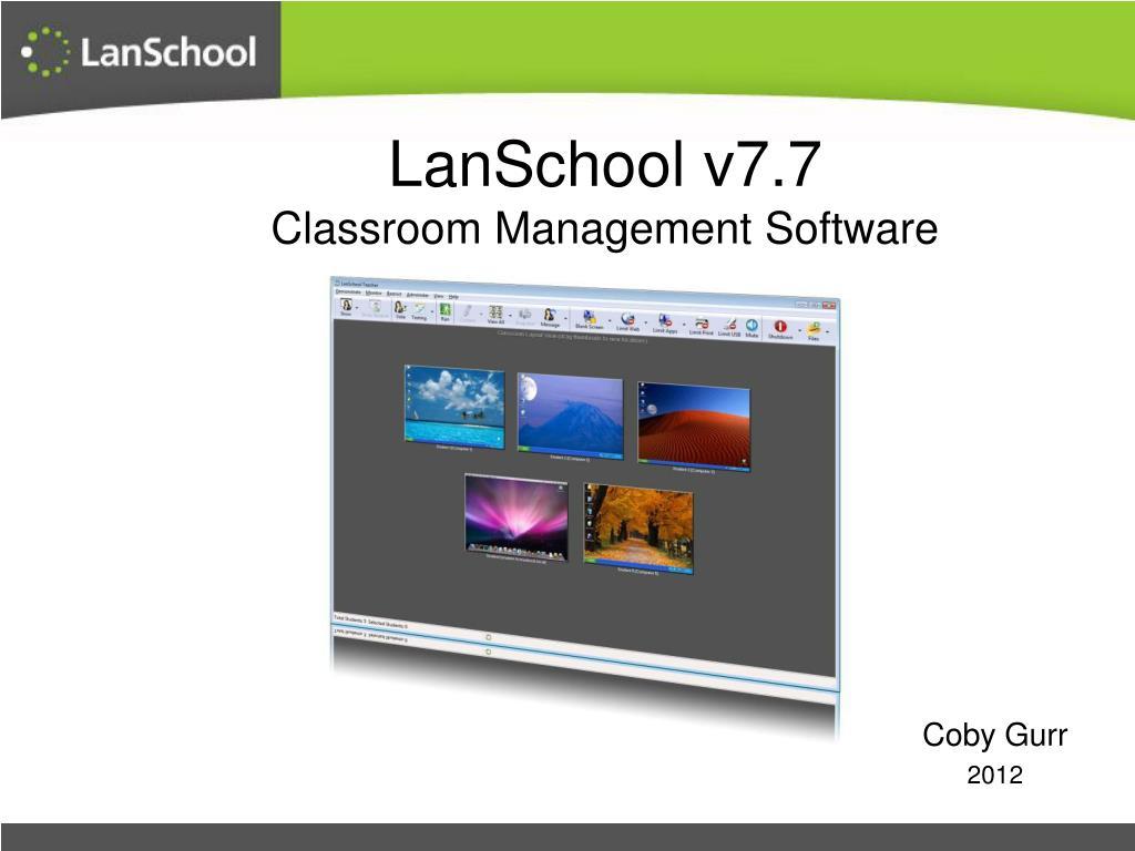 lanschool 7.4