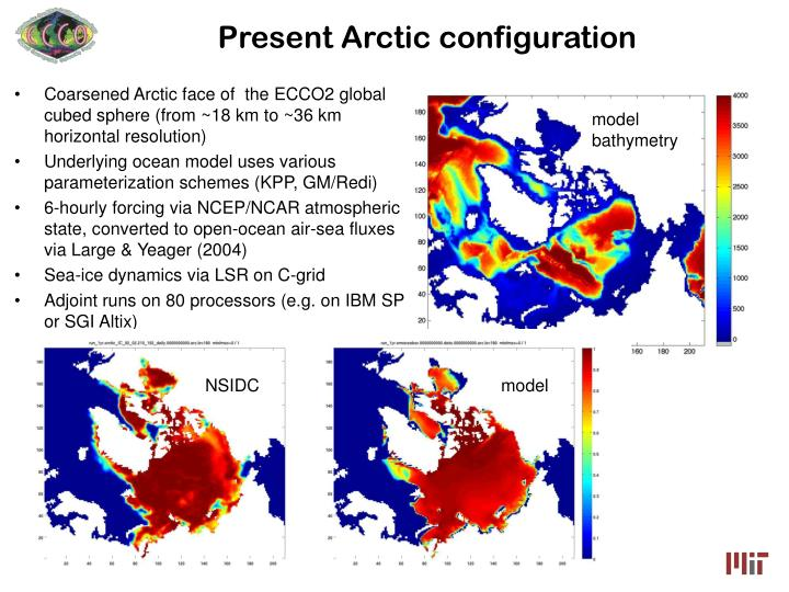 Present arctic configuration
