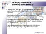 princ py enterprise planning architekt ry