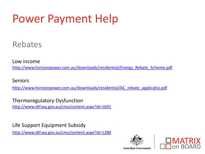 Power Payment Help